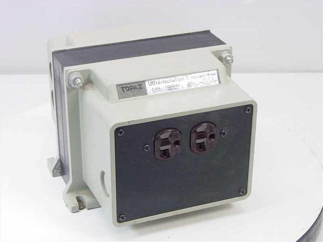 medium resolution of topaz electronics 91001 12 ultra isolation transformer noise suppressor