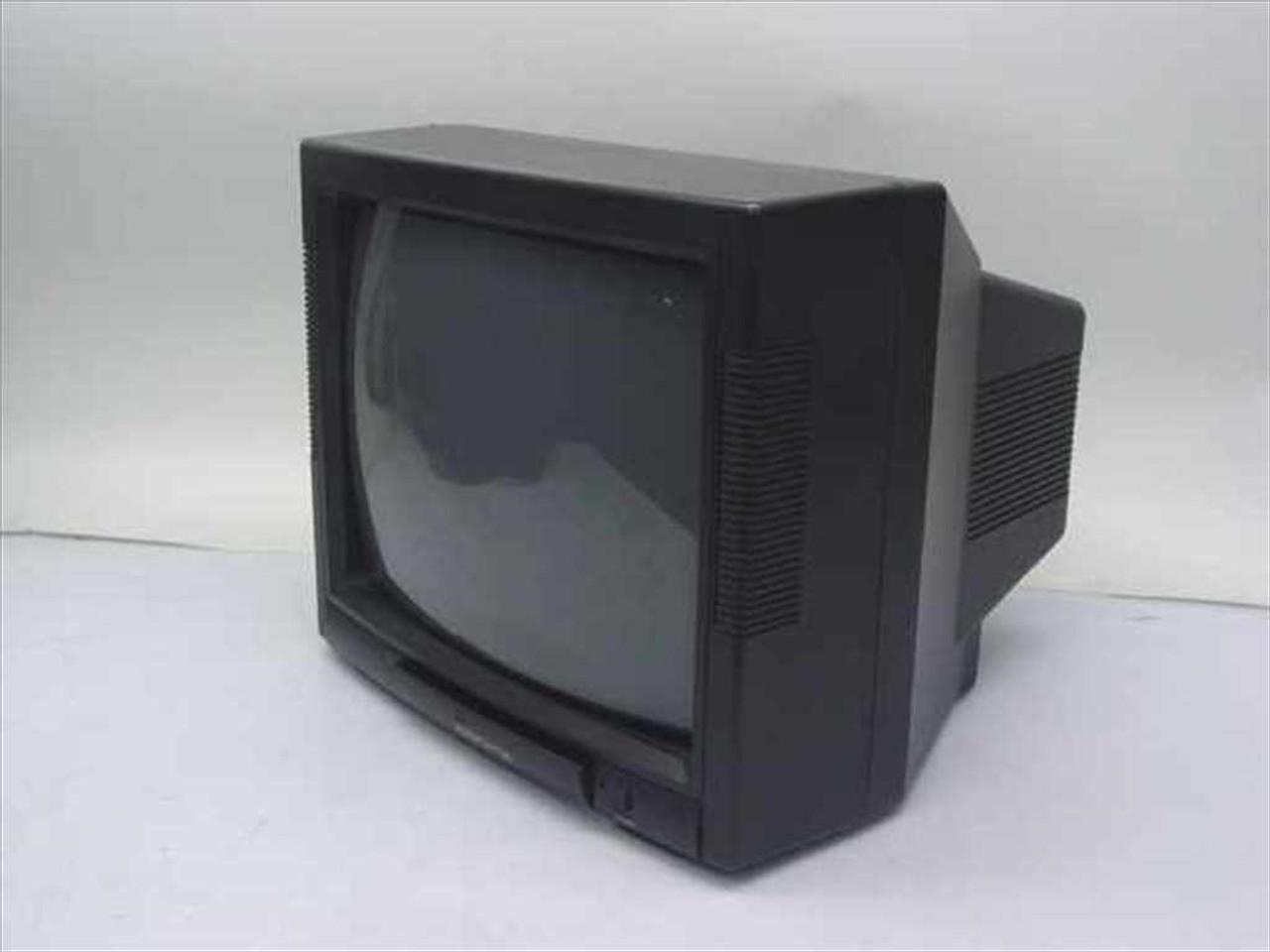 medium resolution of audiovox avt 1475 13 color tv monitor dc powered