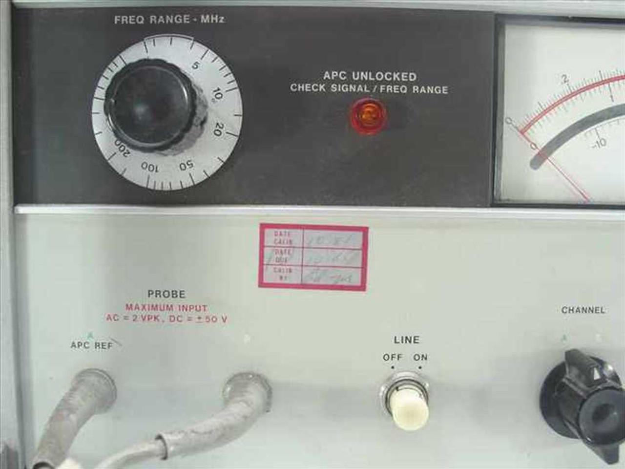 medium resolution of  hp 8405a vector voltmeter option