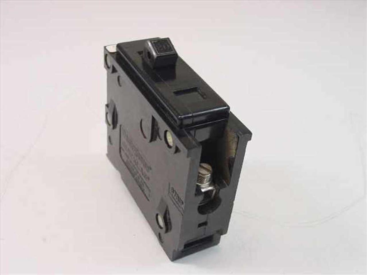 westinghouse mj 2239 quicklag type ba 1 pole 20 amp circuit breaker recycledgoods com [ 1024 x 768 Pixel ]