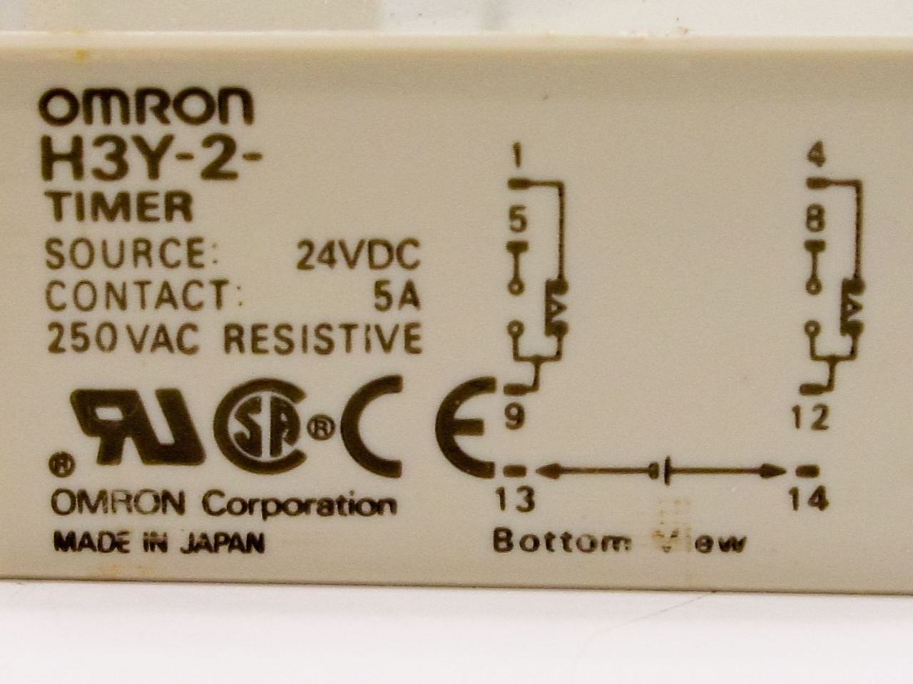 omron timer relay solenoid valve h3y my2 my4 sy31405mzd  [ 1280 x 960 Pixel ]
