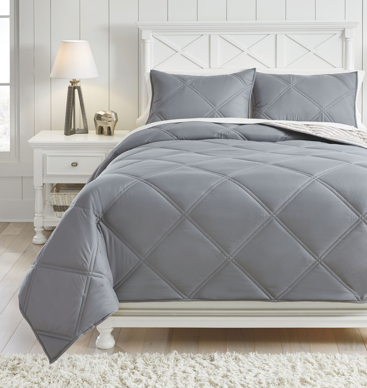 rhey tan brown gray full comforter set