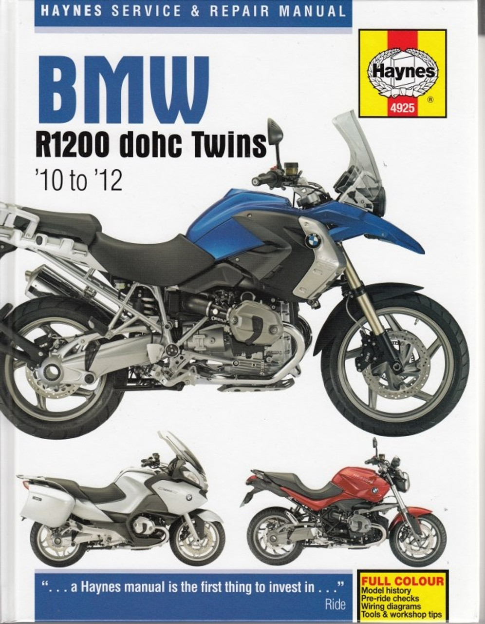 medium resolution of bmw r1200 dohc twins 2010 2012 workshop manual 2010 bmw r1200rt wiring diagram