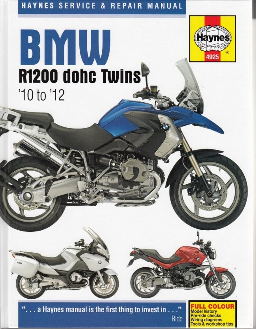 hight resolution of bmw r1200 dohc twins 2010 2012 workshop manual 2010 bmw r1200rt wiring diagram