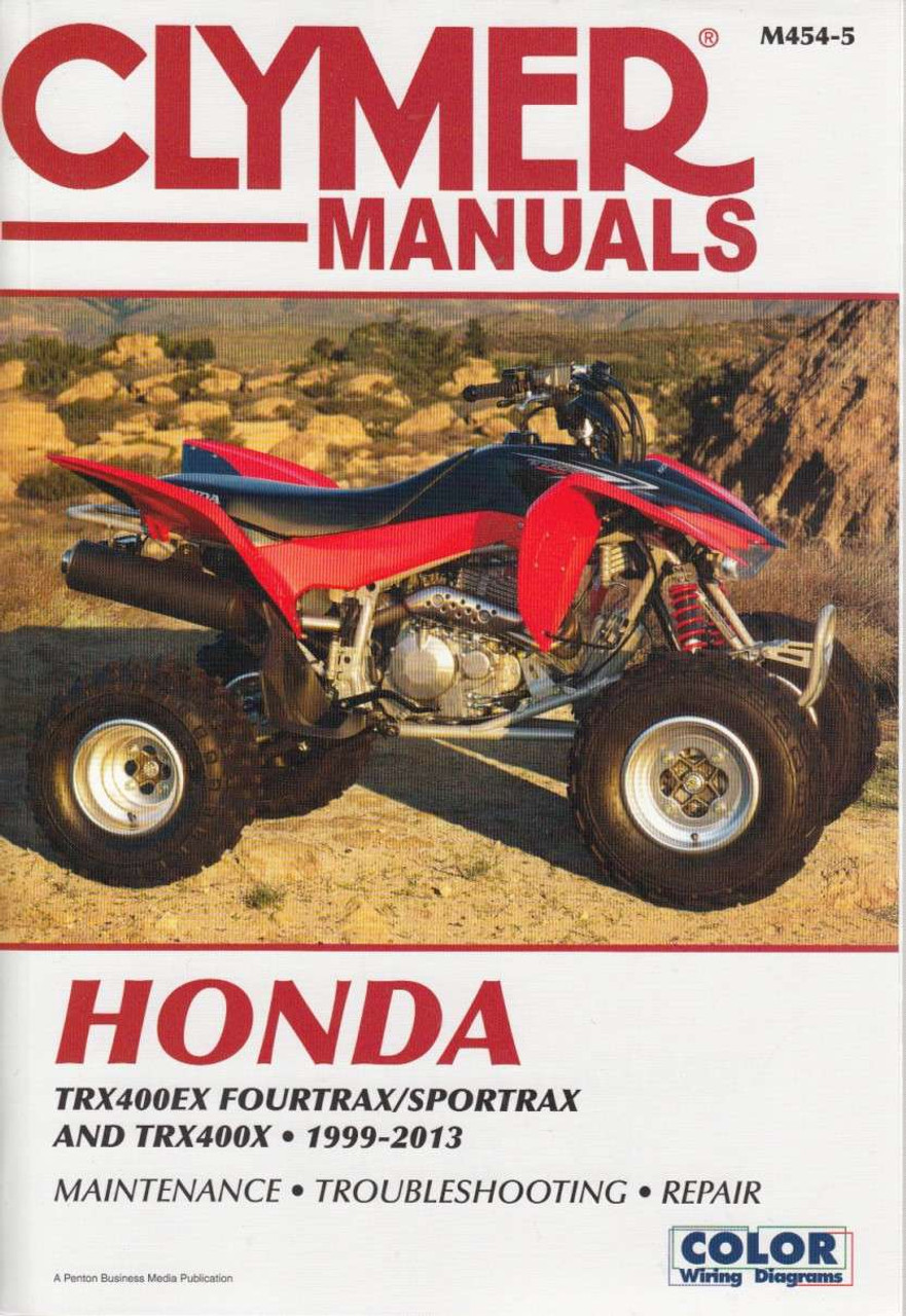 hight resolution of honda rx400ex fourtrax trx400ex sportrax and trx400x 1999 2013 workshop manual