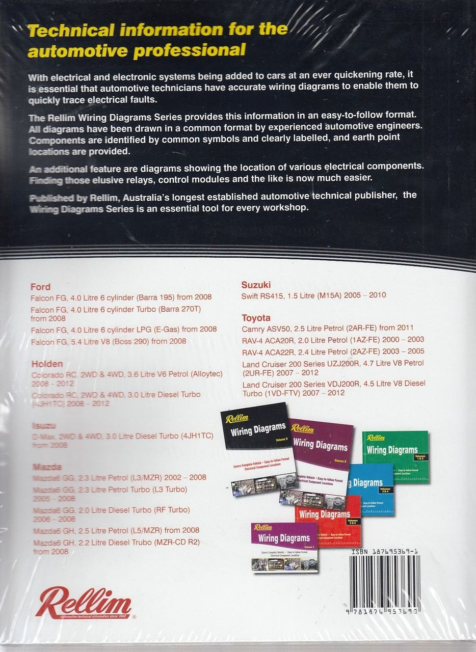 small resolution of  rellim wiring diagrams volume 9 back cover
