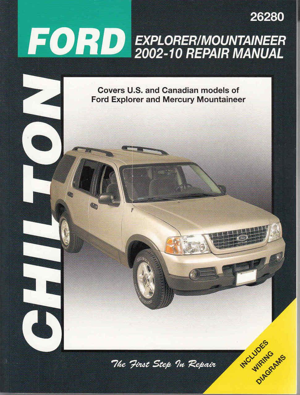 2003 mountaineer and explorer 4 door wiring diagram manual original [ 971 x 1280 Pixel ]