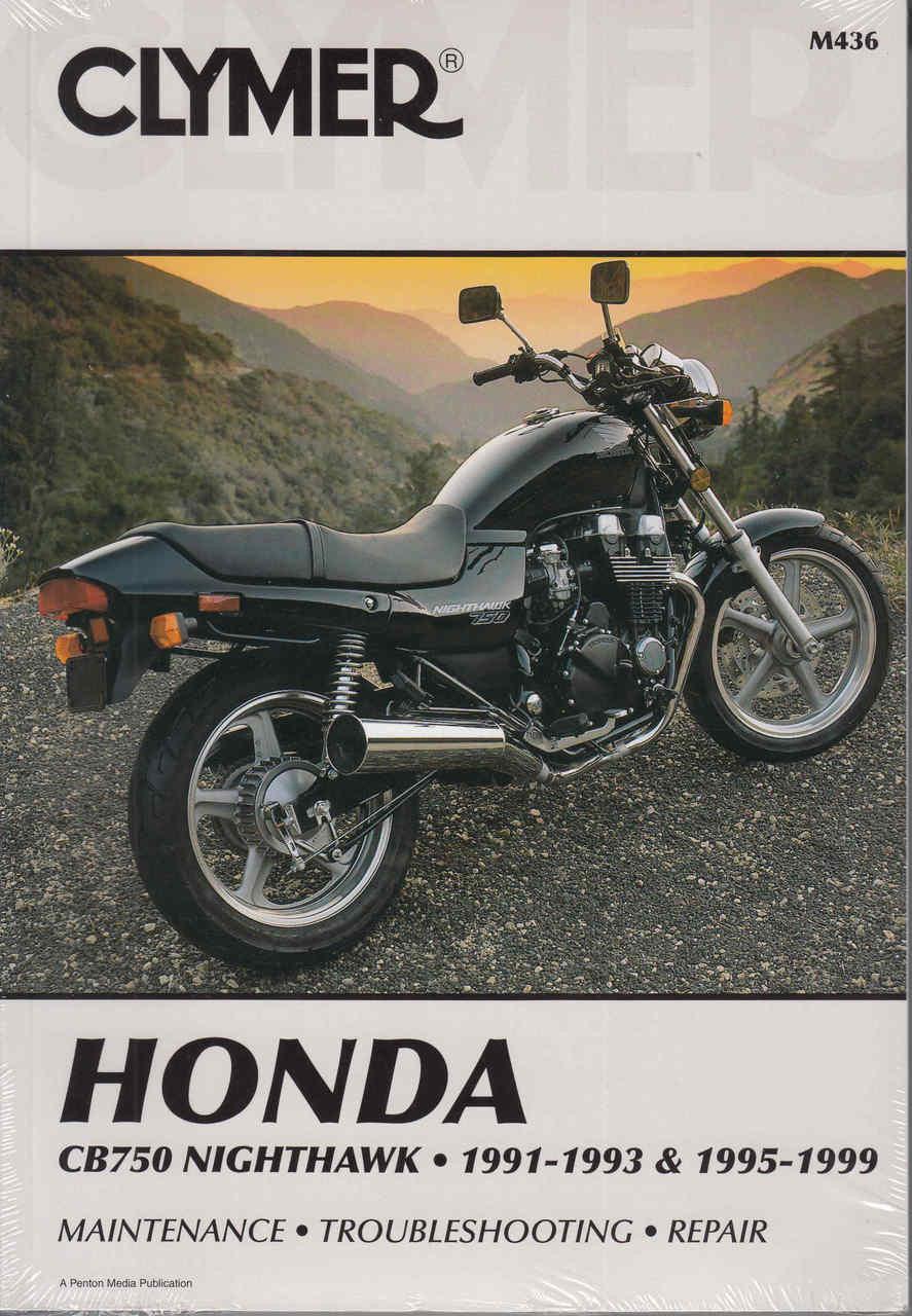 honda cb750 nighthawk 1991 1993 1995 1999 repair manual front  [ 887 x 1280 Pixel ]