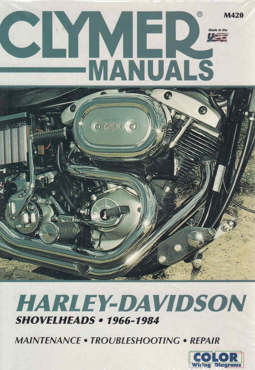 hight resolution of harley davidson shovelheads 1966 1984 workshop manual 9780892875665