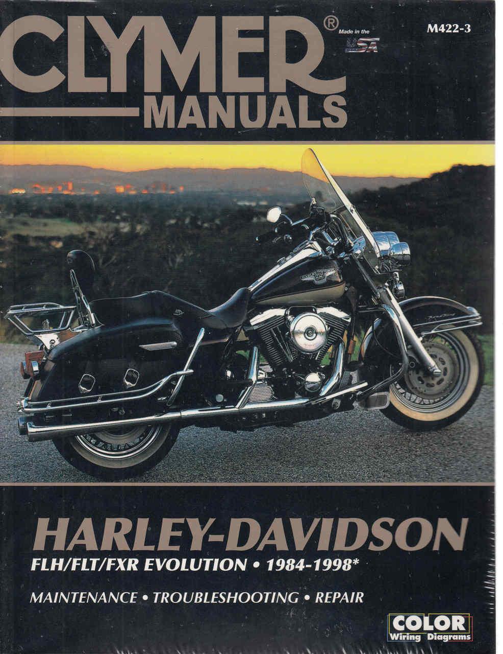 small resolution of harley davidson flh flt fxr evolution 1984 1998 workshop manual 98 flstc harley davidson motorcycle diagrams