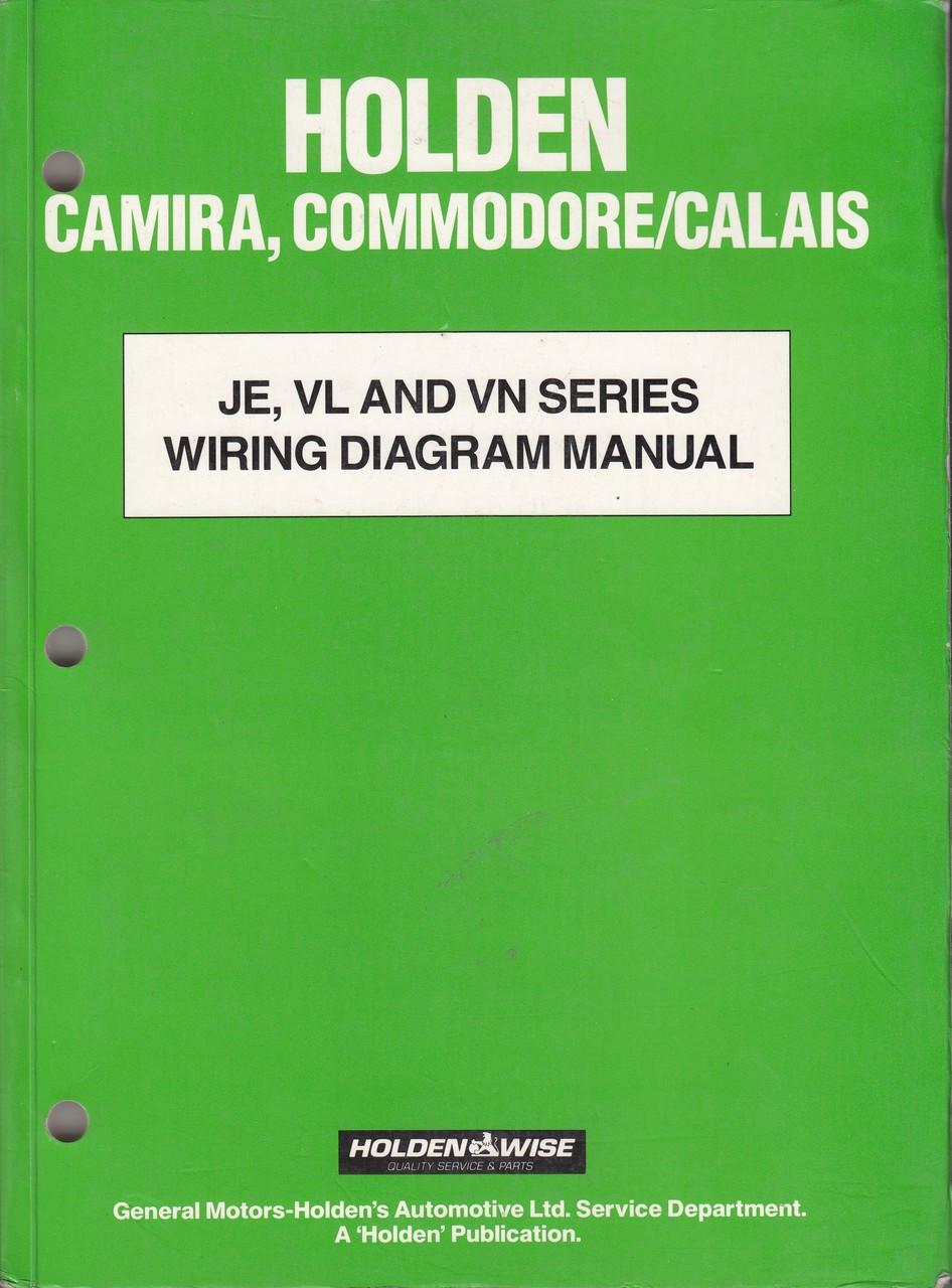 commodore vl wiring diagram narva 7 pin flat holden camira calais je vn series manua