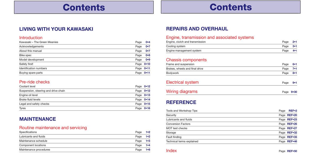hight resolution of kawasaki zx636 zx 6r and zx600 zx 6rr 2003 2006 haynes workshop manual