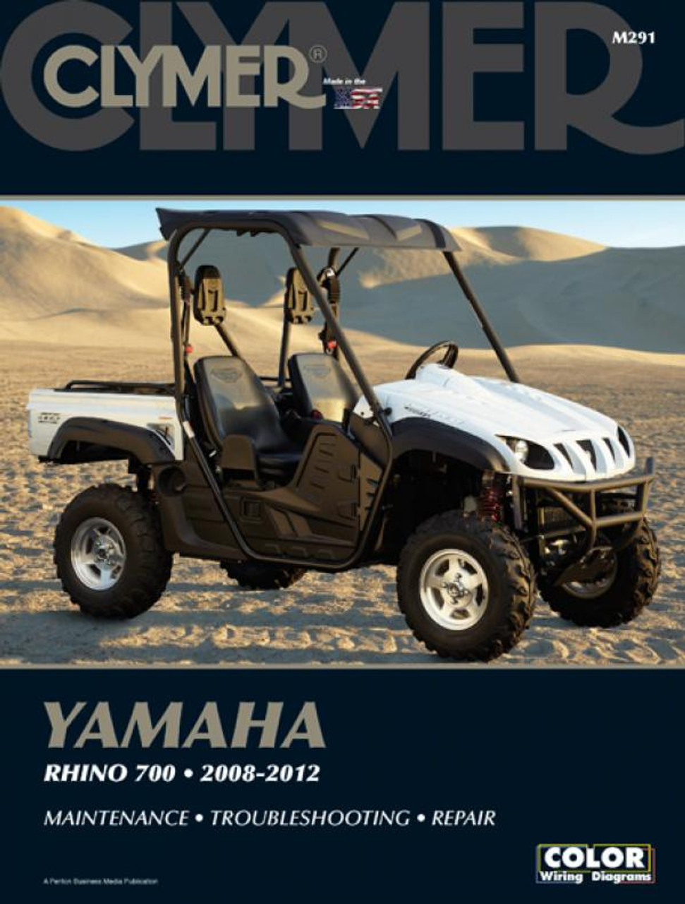 small resolution of yamaha rhino 700 atvs 2008 2012 clymer workshop manual yamaha rhino 700 vacuum diagram