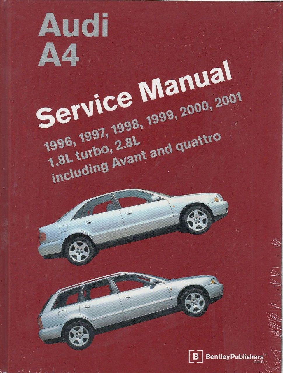 medium resolution of audi a4 1996 2001 workshop manual