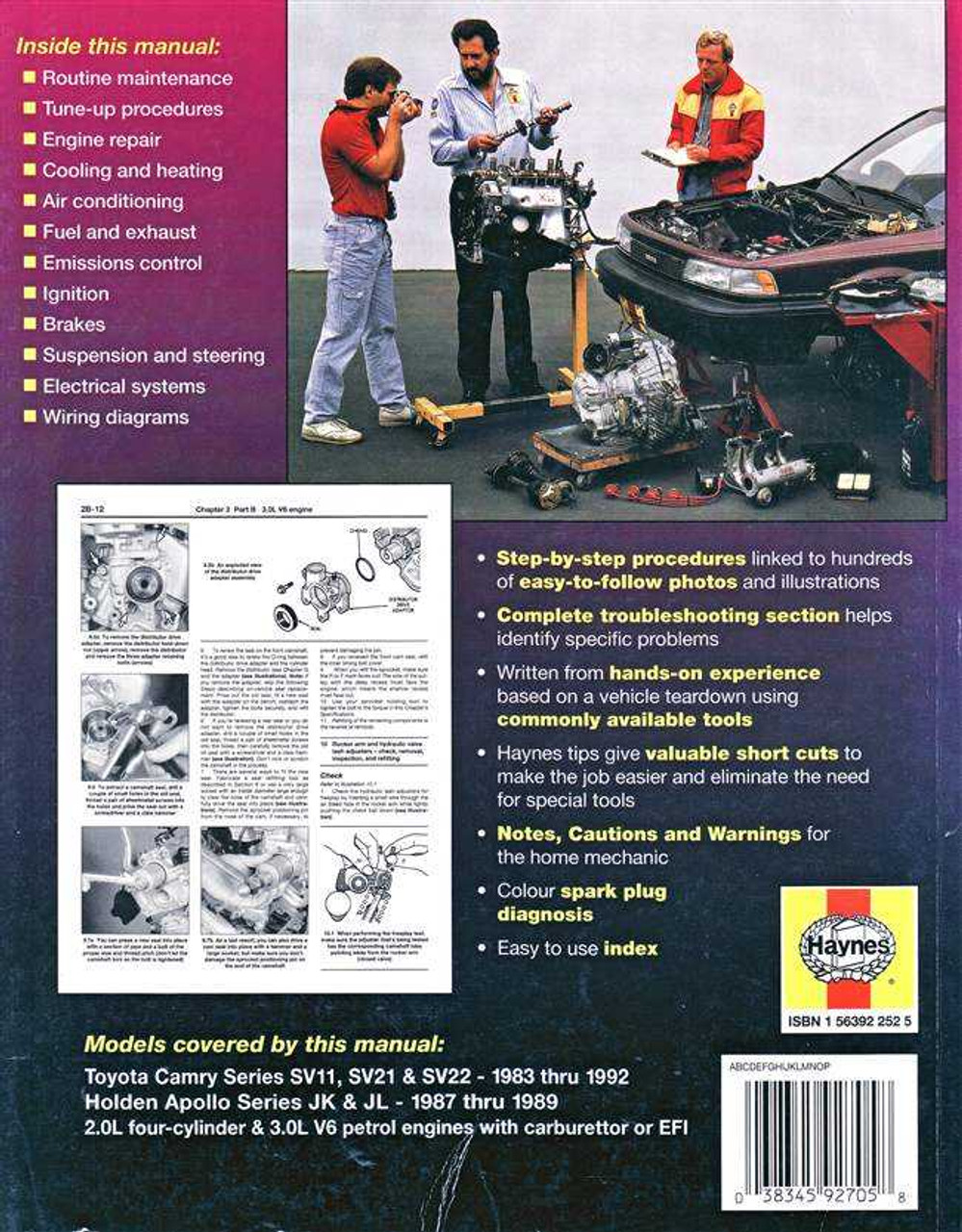 small resolution of toyota camry sv11 sv21 sv22 holden apollo jk jl 1983 1992 workshop manual