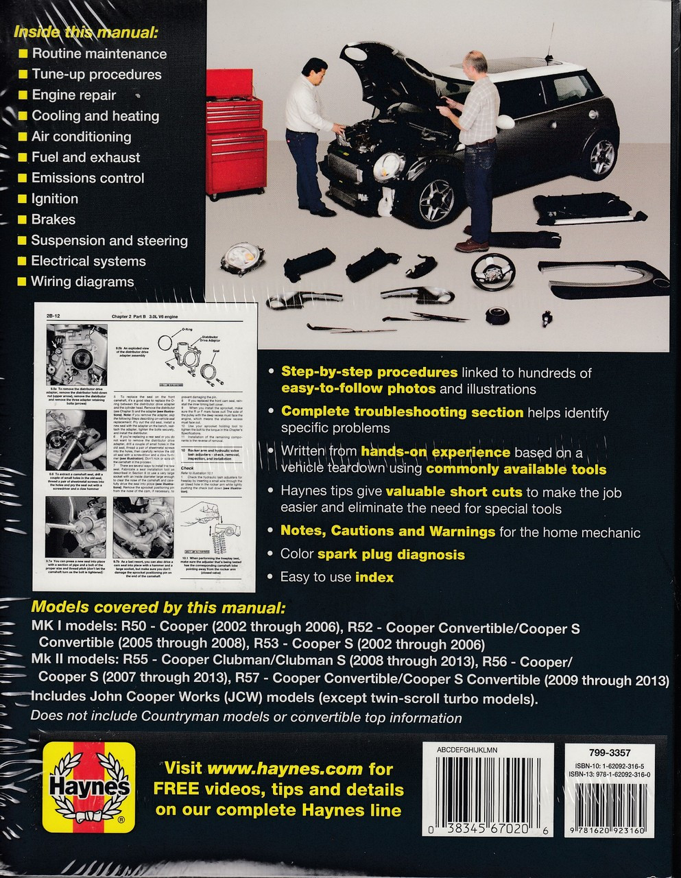 mini cooper cooper s clubman clubman s 2002 2013 workshop manual  [ 993 x 1280 Pixel ]