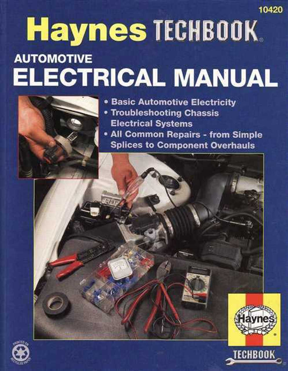 medium resolution of automotive electrical manual haynes techbook auto electrical wiring repair manuals