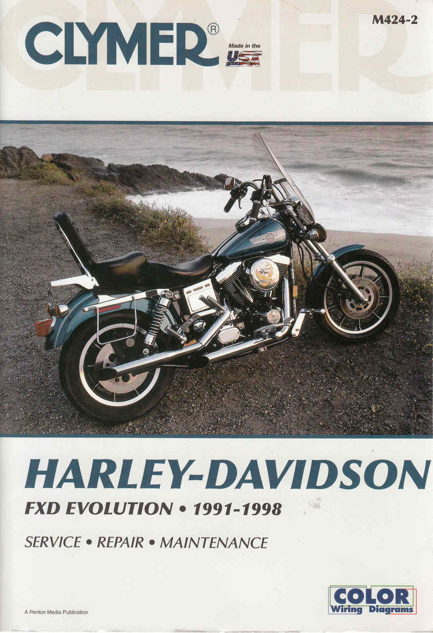 hight resolution of harley davidson fxd revolution 1991 1998 workshop manual 9780892878710