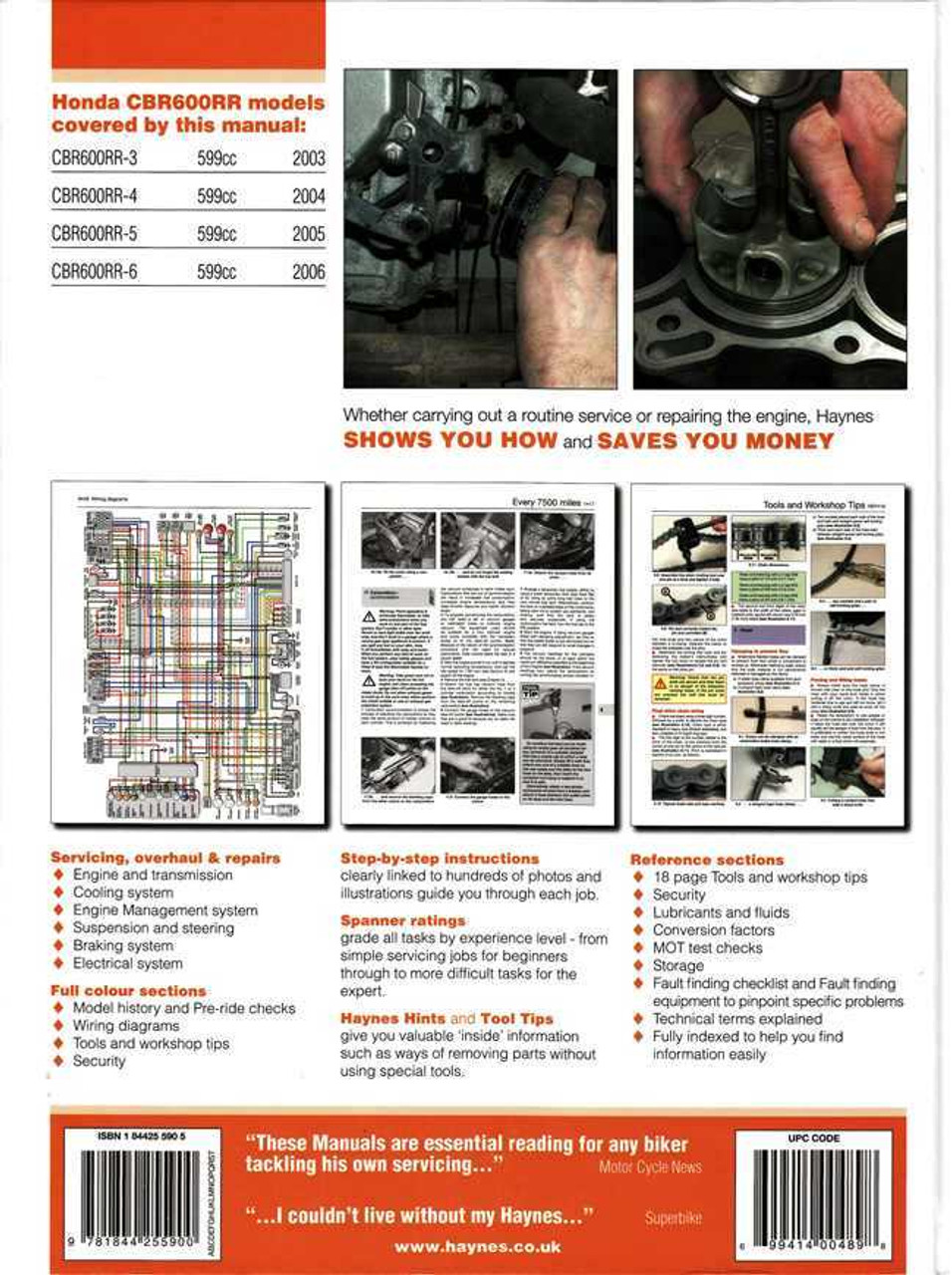 honda cbr600rr 3 4 5 6 2003 2006 workshop manual 2005 cbr600rr review 2005 cbr 600 rr color wiring diagram [ 956 x 1280 Pixel ]
