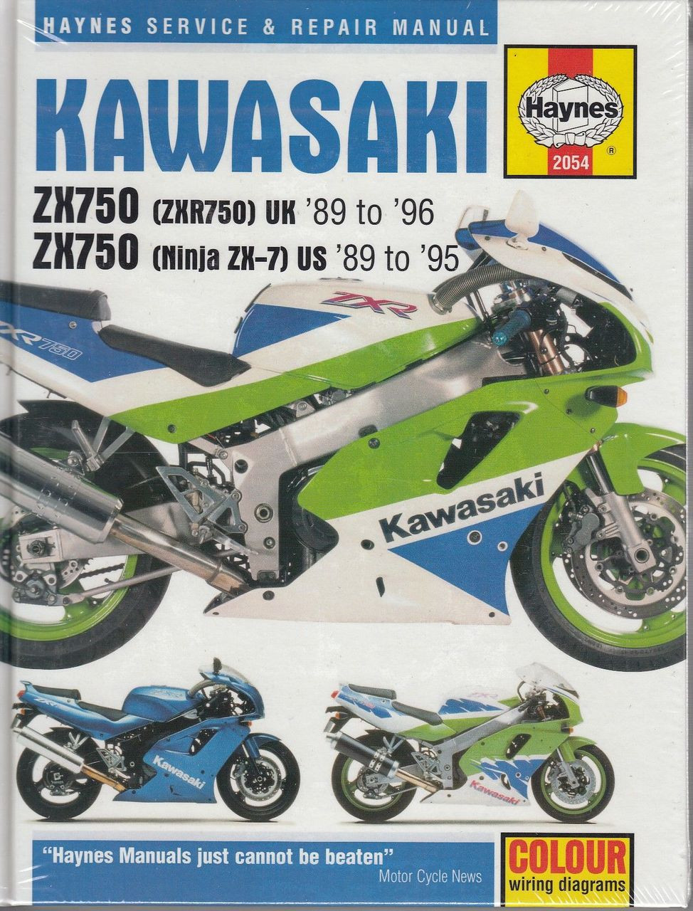 medium resolution of kawasaki zx750 ninja zx 7 amp zxr750 fours 1989 1996 workshop manual