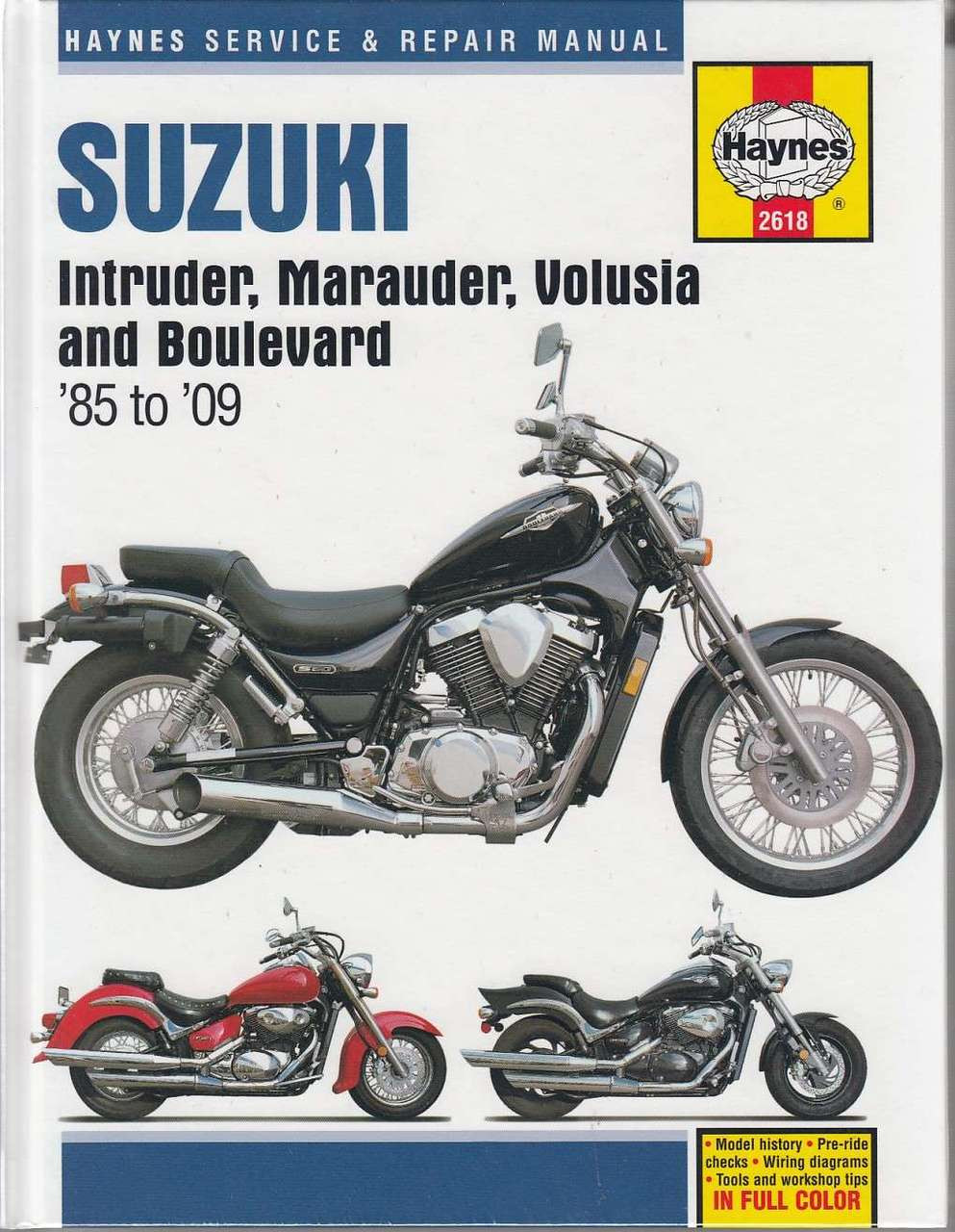 suzuki intruder marauder volusia and boulevard 1985 2009 workshop manual [ 993 x 1280 Pixel ]
