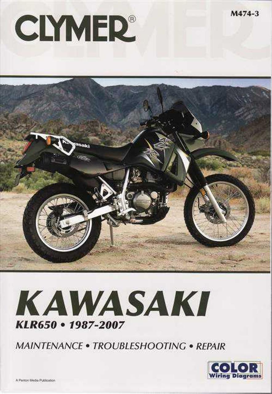 hight resolution of kawasaki klr650 1987 2007 workshop manual kawasaki klr650 a9 1995 motorcycle electrical wiring diagram all