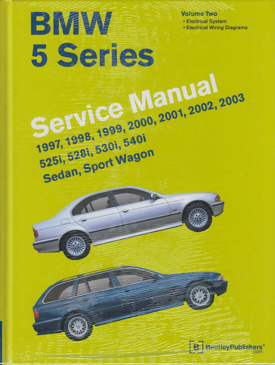 medium resolution of  bmw 5 series e39 525i 528i 530i 540i 1997 2003 workshop manual