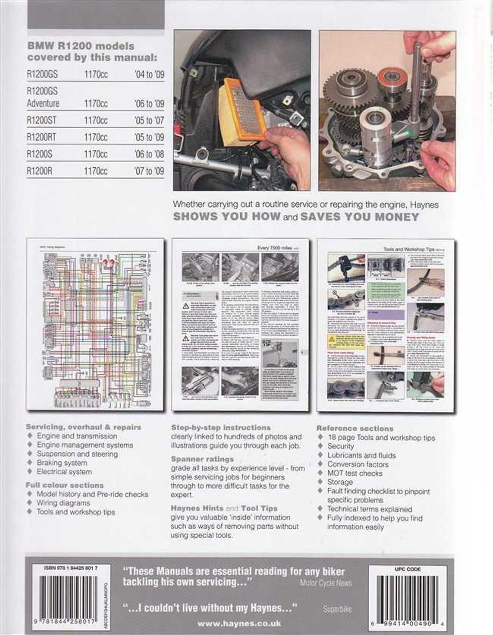 Bmw R1200gs Wiring Diagram Manual