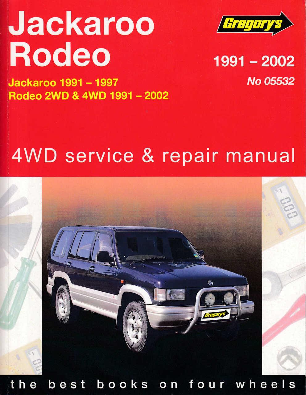 small resolution of 2000 isuzu rodeo service manual