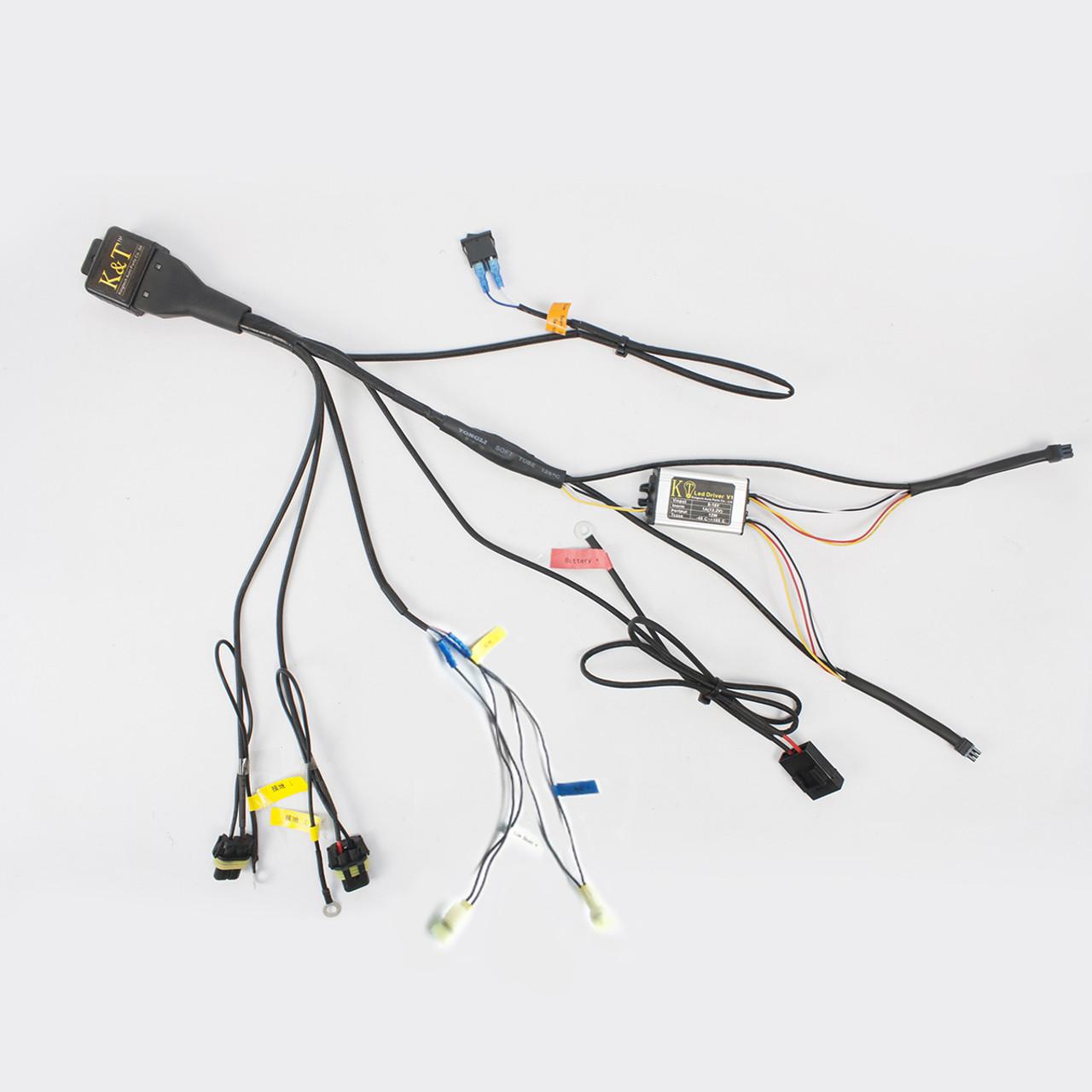 medium resolution of tailor made relay wiring harness for kt honda custom headlight