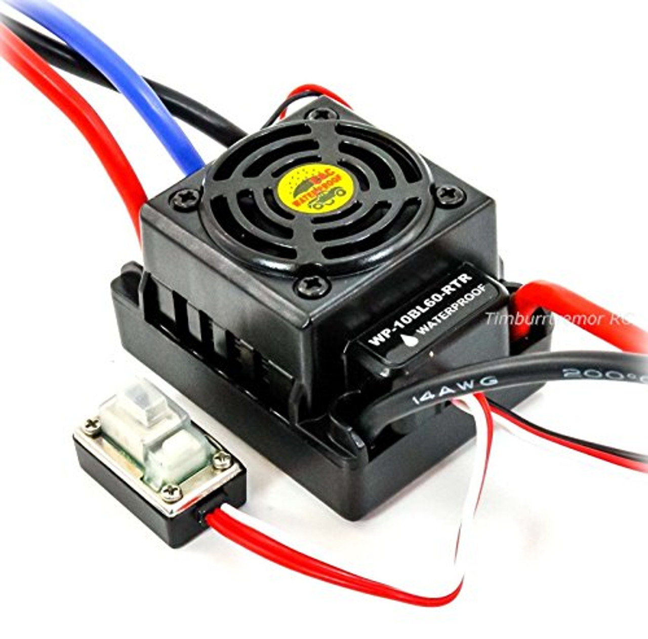 medium resolution of hobbywing 60a waterproof esc brushless for hsp bsd