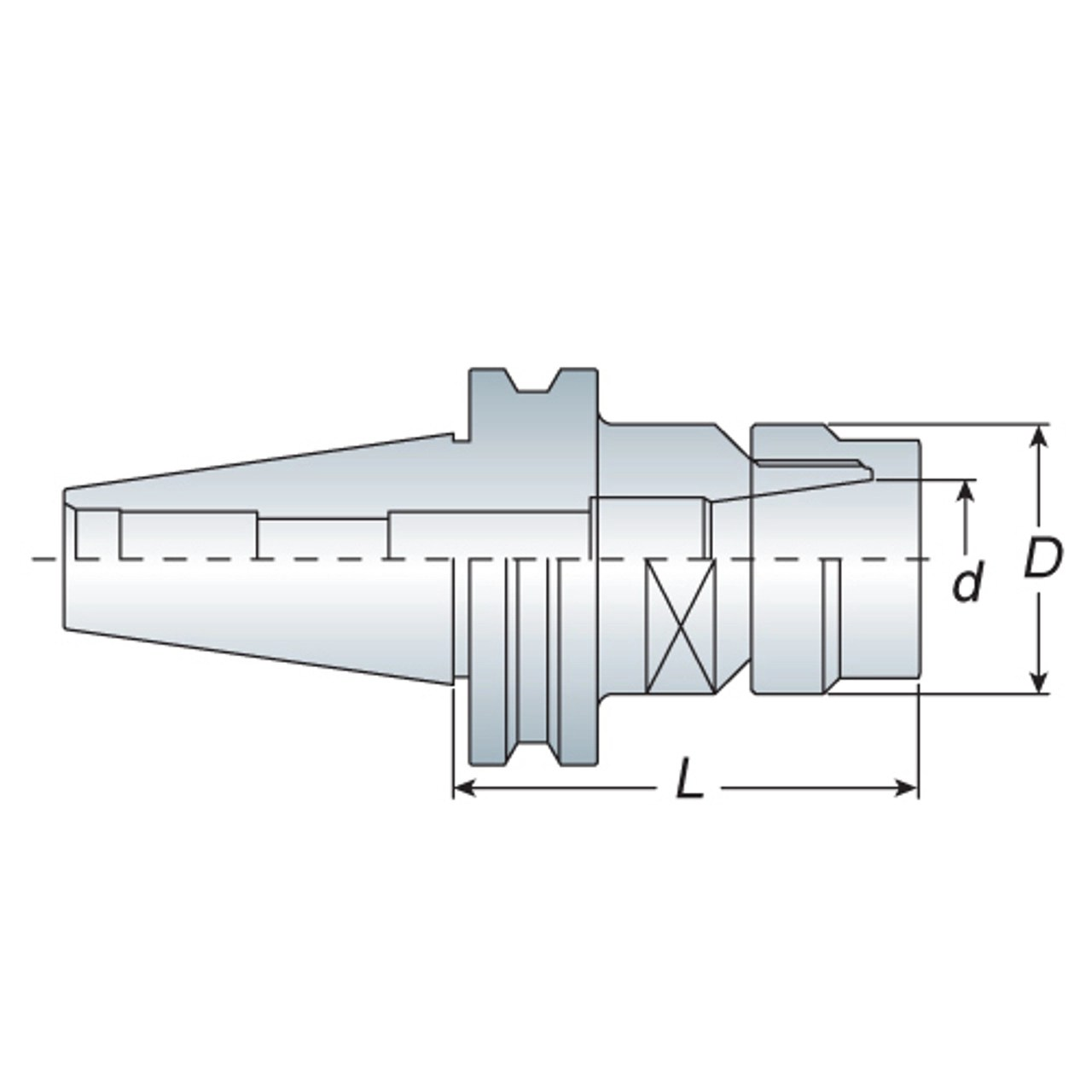 small resolution of metaltech tools tool holder spring collet chuck er25 iso30 60 mm