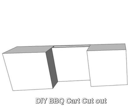 Diy Bbq Cart Cart Cut Out Kit