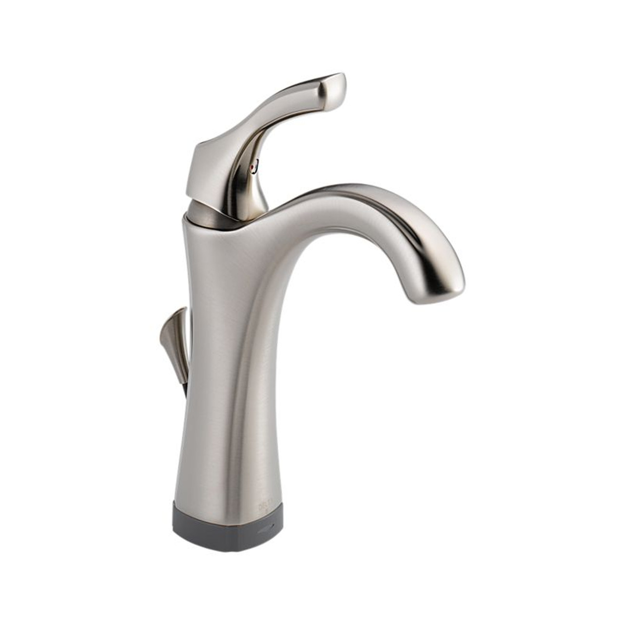 addison single handle lavatory faucet with touch2o xt technology in brilliant stainless