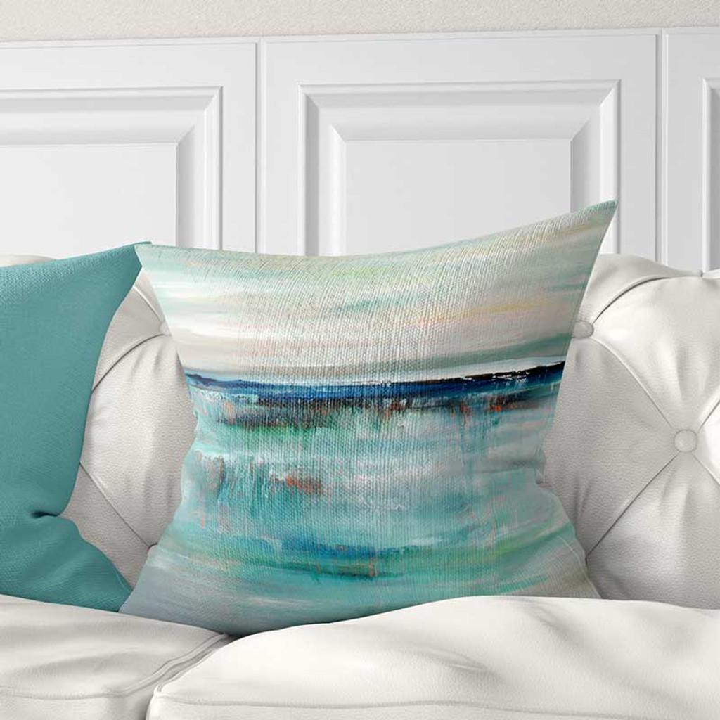 throw pillow cover ocean