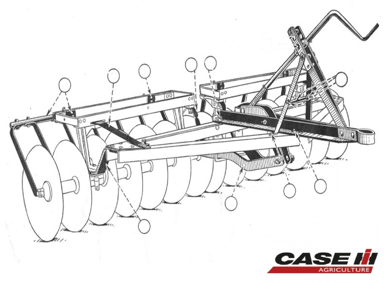 Disc Harrow Parts Diagram