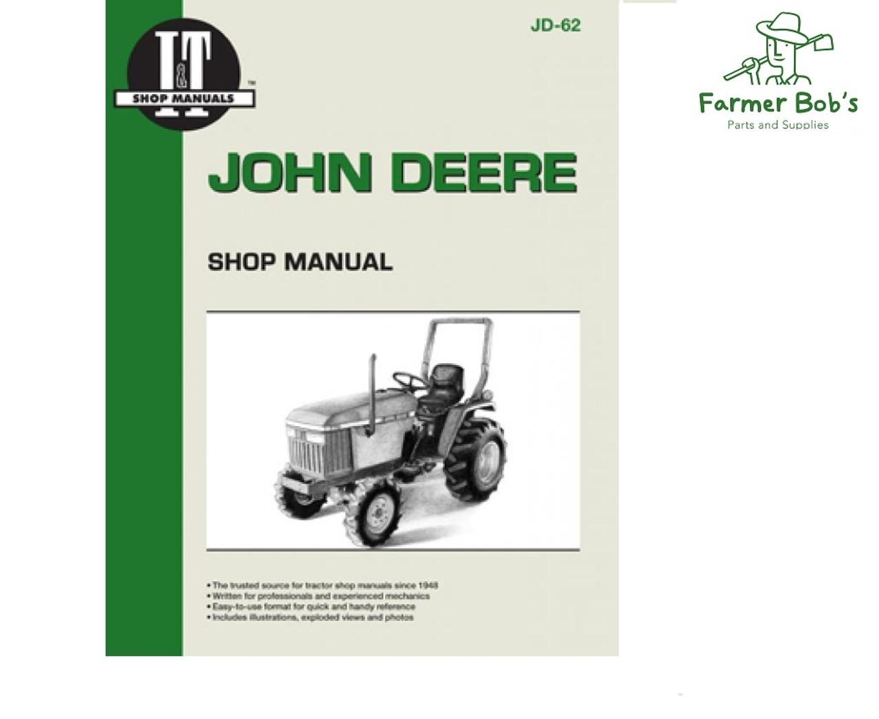 medium resolution of jd62 i t shop manuals john deere 670 770 870 970 and 1070