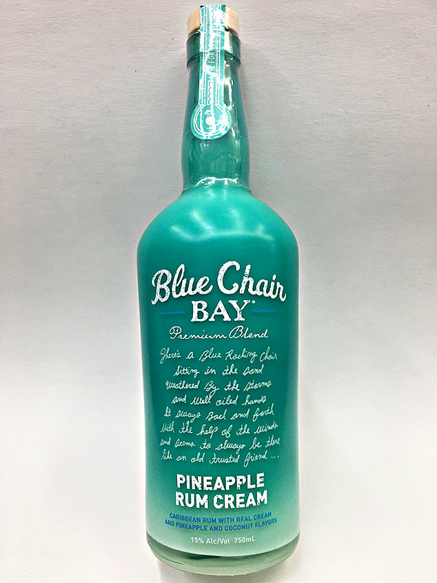blue chair rum eames style plastic bay pineapple cream kenny chesney quality