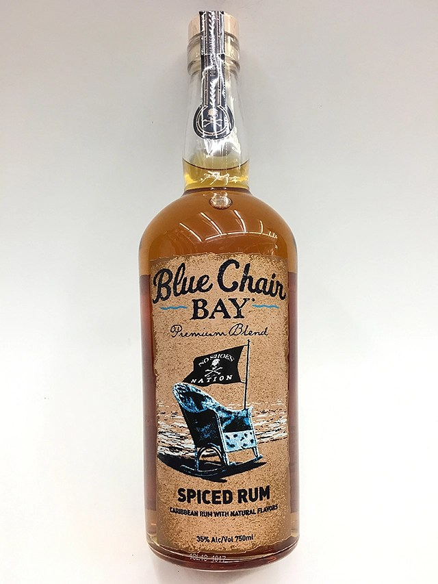 Blue Chair Bay Rum Blue Chair Spiced Rum 750ml