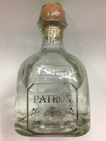 Patron Silver Tequila 375ml  Quality Liquor Store