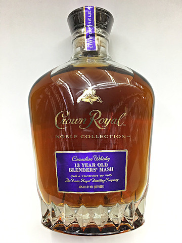 Crown Royal Noble Collection 13 Year Old Blenders Mash
