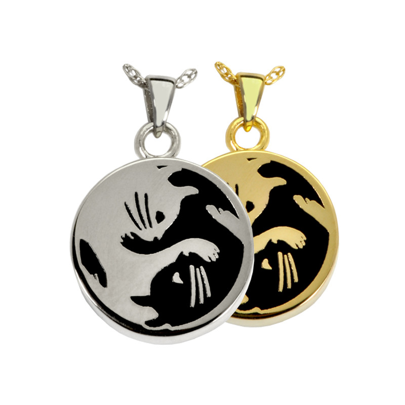 yin yang cat cremation