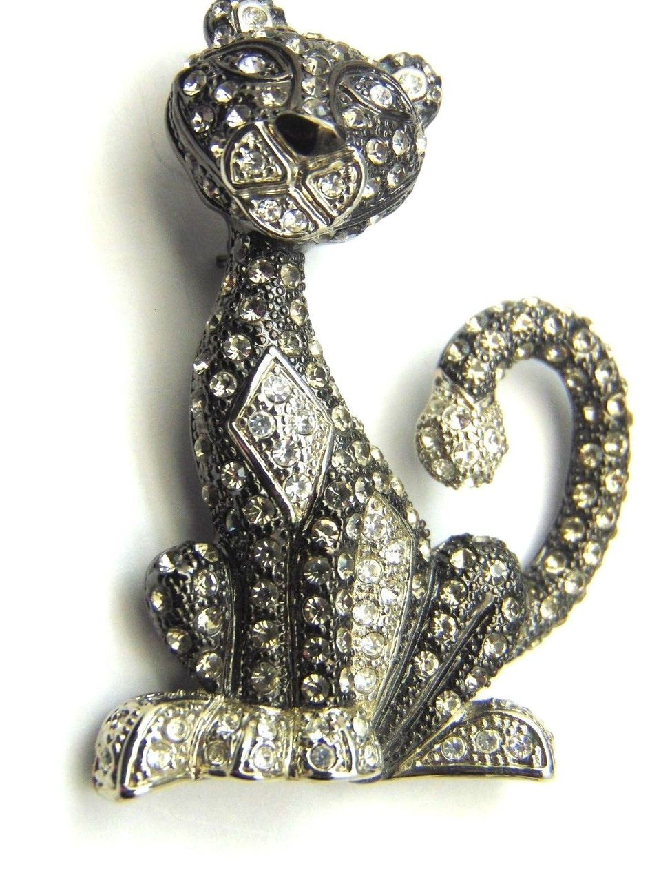 pink panther pin brooch