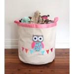 Speckled House Storage Hamper Owl