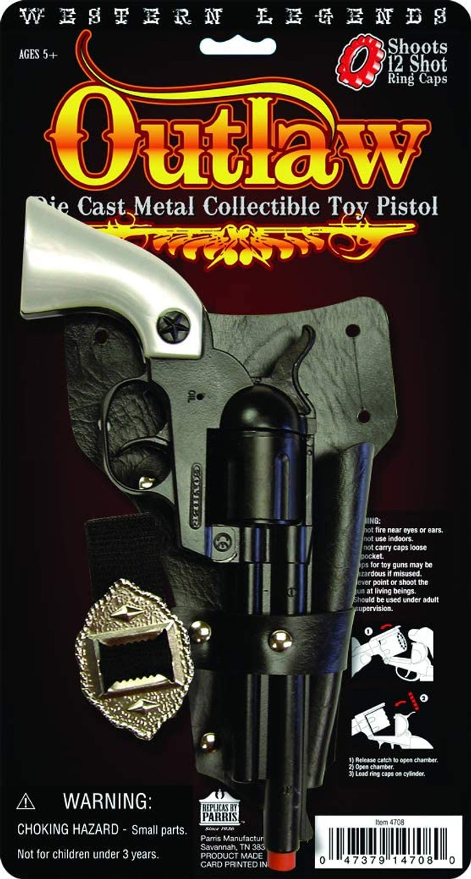 Legends Of The Wild West Cap Gun : legends, Western, Legends, OUTLAW, Kids-Army.com