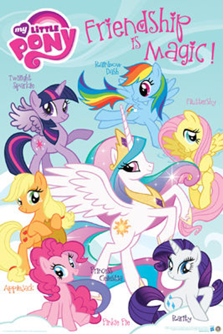 my little pony poster friendship is magic