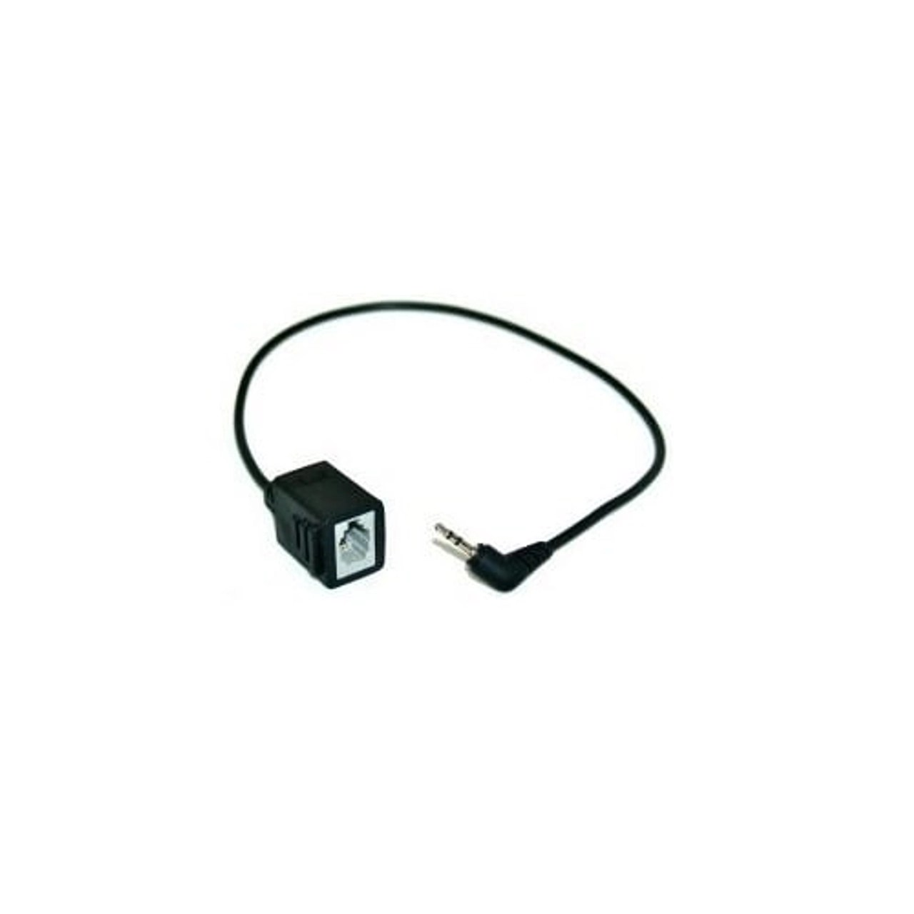rj9 female 2 5mm male adapter plantronics headset to cordless phone connector cable [ 1280 x 1280 Pixel ]