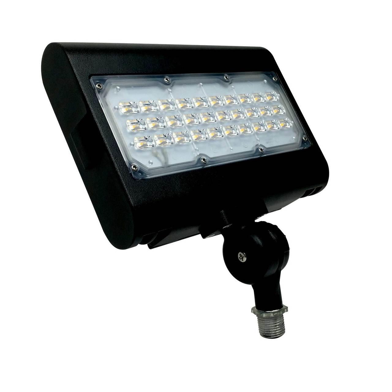 rab design led flood light 50w yoke mount