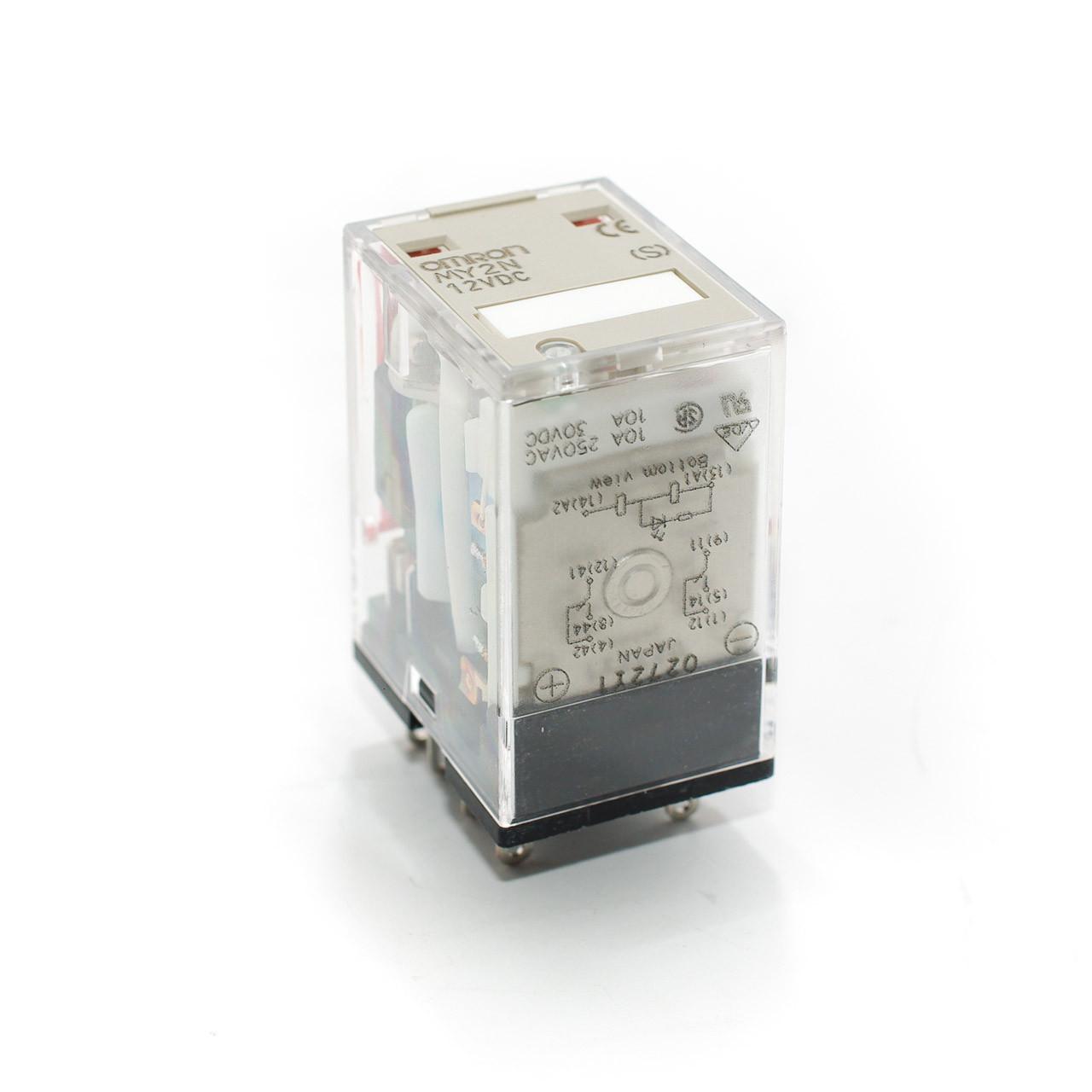 medium resolution of omron my2n 12vdc relay w led indicator