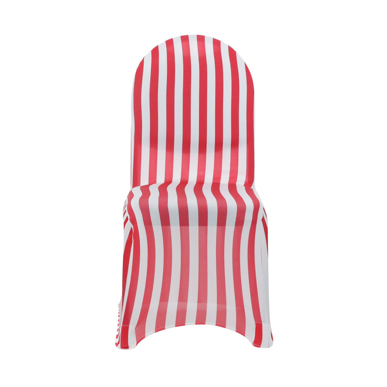 will folding chair covers fit banquet chairs office with attached desk stretch spandex cover striped white and red your wholesale